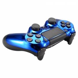 Chrome Blue(GEN 4, 5) - PS4 Controller Shells