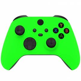 Xbox Series Draadloze Controller - Soft Touch Neon Groen Custom