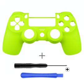 Soft Touch Neon Yellow (GEN 4, 5) - PS4 Controller Shells
