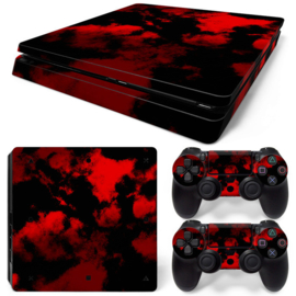 Army Camouflage Red - PS4 Slim Console Skins