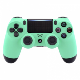 Soft Touch Mintgroen - Custom PS4 Controllers V2