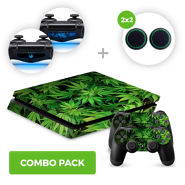 Weed Skins Bundel - PS4 Slim Combo Packs