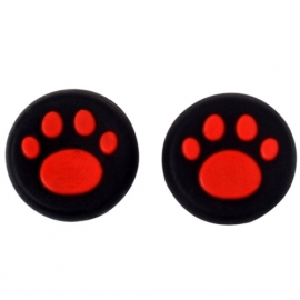Hondenpoot Rood - PS4 Thumb Grips