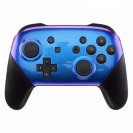 Metallic Chameleon Blauw / Paars - Custom Nintendo Switch Pro Controllers