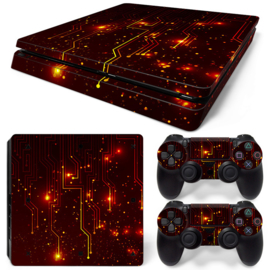 CPU / Rood - PS4 Slim Console Skins