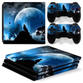 Dire Wolf - PS4 Pro Console Skins