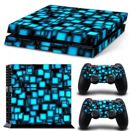 Blue Boxes - PS4 Console Skins