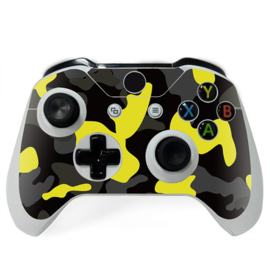 Army Camo Yellow Black- Xbox One Controller Skins