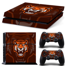 Gamer Tiger - PS4 Console Skins