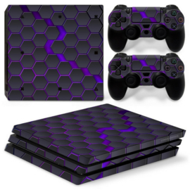 Hex Galaxy - PS4 Pro Console Skins