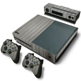 Wood Grey - Xbox One Console Skins