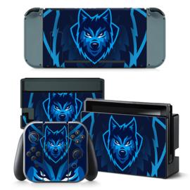 Gamer Wolf - Nintendo Switch Skins