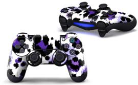 Luipaard Print Paars - PS4 Controller Skins