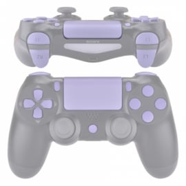 Violet Soft Touch (GEN 4, 5) - PS4 Controller Buttons