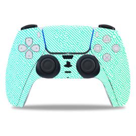 PS5 Controller Skins - Cool Gradient Mintgroen