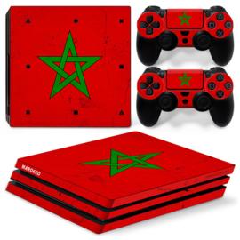 Marokko Premium - PS4 Pro Console Skins