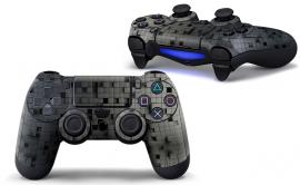 3D Cubes Dark  - PS4 Controller Skins