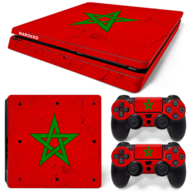 Marokko Premium - PS4 Slim Console Skins
