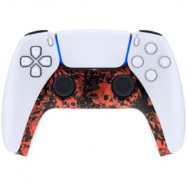 Sony PS5 DualSense Draadloze Controller - Red Skull Cover Custom