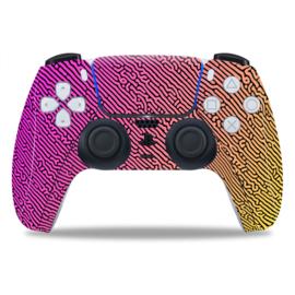 PS5 Controller Skins - Cool Gradient Geel / Roze