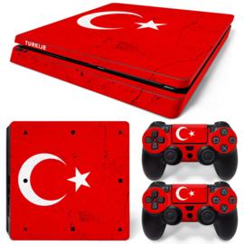 Turkije Premium - PS4 Slim Console Skins