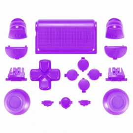 Purple (GEN 3) - PS4 Controller Buttons