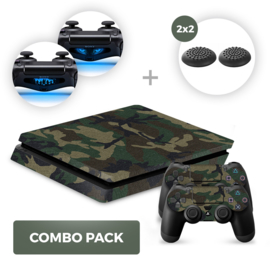 Army Camo Skins Bundel - PS4 Slim Combo Packs