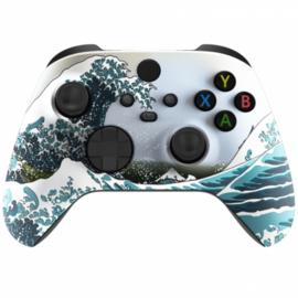 Xbox Series Draadloze Controller - Great Wave Custom