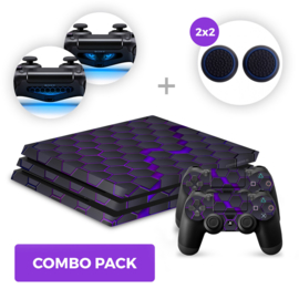 Hex Galaxy Skins Bundle - PS4 Pro Combo Packs