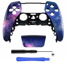 PS5 Controller Behuizing Shell - Milky Way - Front Shell