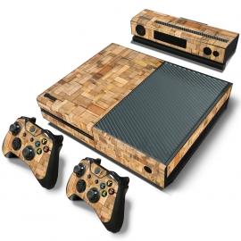 Wood Premium - Xbox One Console Skins