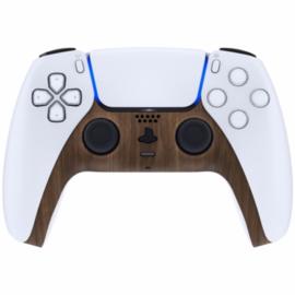 Sony PS5 DualSense Wireless Controller - Wood Cover Custom
