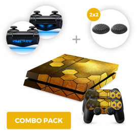Steel Gold Skins Bundle - PS4 Combo Packs