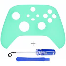Soft Touch Mintgroen - Xbox Series Controller Behuizing Shell