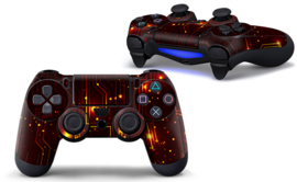 CPU / Red - PS4 Controller Skins