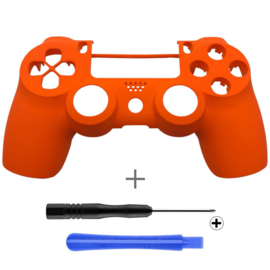 Soft Touch Orange (GEN 4, 5) - PS4 Controllers Shells