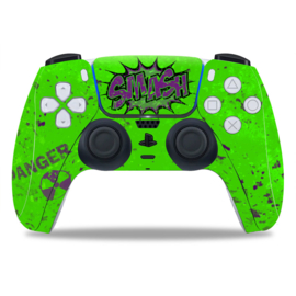 PS5 Controller Skins - Hulk Smash