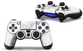 Marmer Wit - PS4 Controller Skins