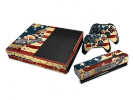 America WW2 Bomber - Xbox One Console Skins