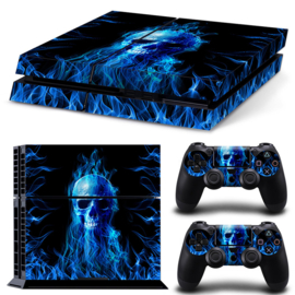 Fire Skull - PS4 Console Skins