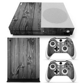 Wood Grey Oak - Xbox One S Console Skins