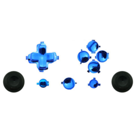 Sky Blue Chrome - Xbox One Controller Buttons