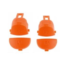 Orange L1 L2 R1 R2 (GEN 4, 5) - PS4 Controller Buttons
