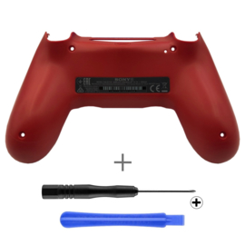 Magma Red (GEN 4, 5) - PS4 Controller Back Shells