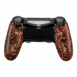 3D Grip Orange(GEN 4, 5) - PS4 Controller Back Shells