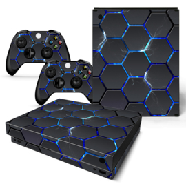 Hex Lightning - Xbox One X Console Skins