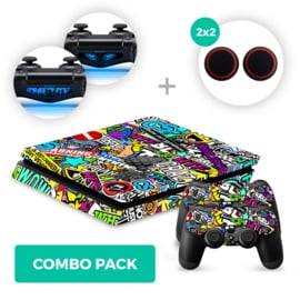 Madness Skins Bundel - PS4 Slim Combo Packs