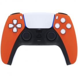 Sony PS5 DualSense Draadloze Controller - Oranje Soft Touch Front Custom