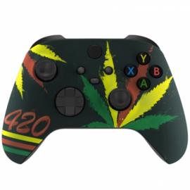 Xbox Series Draadloze Controller - Weed 420 Custom