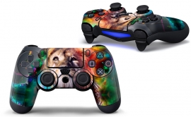 Lion Abstract - PS4 Controller Skins